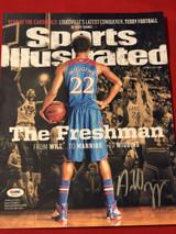 Andrew Wiggins 11x14 Photo Signed Autograph PSA/DNA KU Jayhawks SI Cover