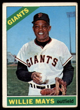 1966 Topps #1 Willie Mays Excellent  ID: 149933
