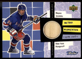 1999-00 Upper Deck RM1 Wayne Gretzky Retro Moments Game Used Stick