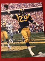 Eric Dickerson 11x14 Photo Signed Autograph PSA/DNA LA Rams HOF 99
