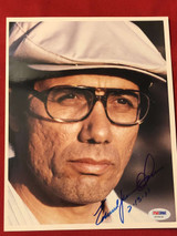 Edward James Olmos 8x10 Color Photo Signed Autograph PSA/DNA 36204.00
