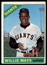 1966 Topps #1 Willie Mays Very Good  ID: 149932