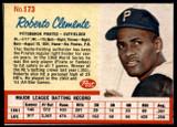 1962 Post Cereal #173 Roberto Clemente VAR Ex-Mint