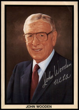 John Wooden Signed Auto 5x7 Photo PSA/DNA COA UCLA Pyramid Success