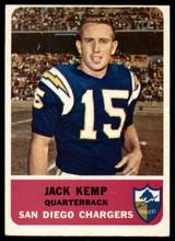 1962 Fleer #79 Jack Kemp Excellent+
