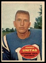 1960 Topps #1 Johnny Unitas EX/NM