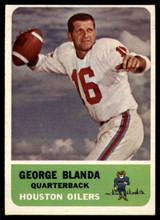 1962 Fleer #46 George Blanda NM+