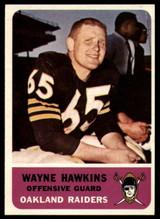 1962 Fleer #71 Wayne Hawkins EX/NM RC Rookie