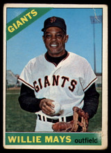 1966 Topps #1 Willie Mays Good  ID: 132126