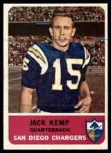 1962 Fleer #79 Jack Kemp Excellent