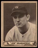 1940 Play Ball #188 Joe Krakauskas EX Excellent RC Rookie