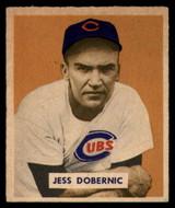 1949 Bowman #200 Jess Dobernic Excellent+ High Number RC Rookie