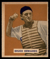 1949 Bowman #206 Bruce Edwards Excellent+ High Number