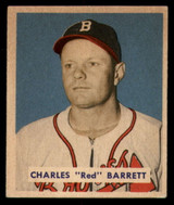 1949 Bowman #213 Red Barrett Excellent+ High Number RC Rookie