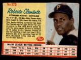 1962 Post Cereal #173 Roberto Clemente VAR Good  ID: 137269