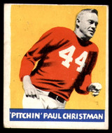 1948 Leaf #21 Paul Christman Excellent RC Rookie