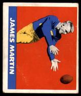 1948 Leaf #24 Jim Martin RB Excellent+ RC Rookie