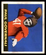 1948 Leaf #30 Paul Governali Excellent+ RC Rookie