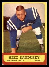 1963 Topps #6 Alex Sandusky Excellent+  ID: 271239