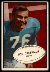 1953 Bowman #34 Lou Creekmur EX Excellent
