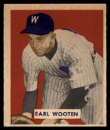 1949 Bowman #189 Earl Wooten Excellent High Number RC Rookie