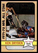 1972-73 Topps #127 Ken Dryden AS NM-Mint