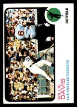 1973 Topps #35 Willie Davis Near Mint  ID: 274604