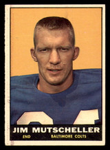 1961 Topps #5 Jim Mutscheller Excellent+  ID: 272841