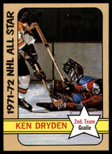 1972-73 Topps #127 Ken Dryden AS NM-MT  ID: 107978