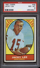 1967 Topps #46 Jack Lee PSA 8 NM-Mint