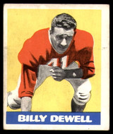1948 Leaf #39 Billy Dewell Excellent