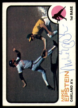 1973 Topps #38 Mike Epstein Signed Auto Autograph