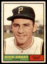 1961 Topps #1 Dick Groat EX++ Excellent++  ID: 111944