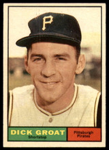 1961 Topps #1 Dick Groat EX++ Excellent++  ID: 111945