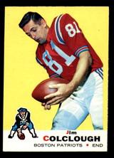 1969 Topps #8 Jim Colclough Ex-Mint  ID: 279108