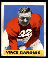 1948 Leaf #8 Vince Banonis BL Excellent+ RC Rookie