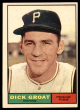 1961 Topps #1 Dick Groat Excellent+  ID: 132014