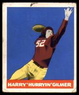 1948 Leaf #18 Harry Gilmer Very Good RC Rookie
