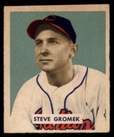 1949 Bowman #198 Steve Gromek Very Good High Number RC Rookie