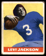 1948 Leaf #5 Levi Jackson BJ VG-EX RC Rookie