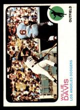 1973 Topps #35 Willie Davis Ex-Mint