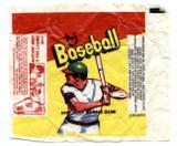 1973 Topps Baseball Cards Wrapper (#445 Umpire's Ball Strike Indicator AD)