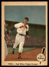 1959 Fleer Ted Williams #19 1942 - Ted Wins Triple Crown NM-MT