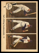 1959 Fleer Ted Williams #73 Ted's Hitting Fundamentals #3 NM-MT  ID: 116633