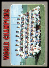 1970 Topps #1 World Champions Mets Excellent  ID: 172718