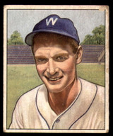 1950 Bowman #17 Sid Hudson G-VG