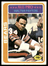 1978 Topps #200 Walter Payton UER Excellent+  ID: 159438