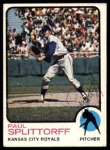 1973 Topps #48 Paul Splittorff Signed Auto Autograph