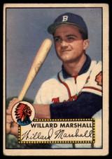 1952 Topps #96 Willard Marshall Very Good