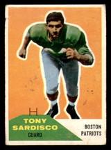 1960 Fleer #21 Tony Sardisco Good  ID: 270865